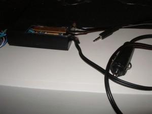 Amplificador par ael auto - Conectores